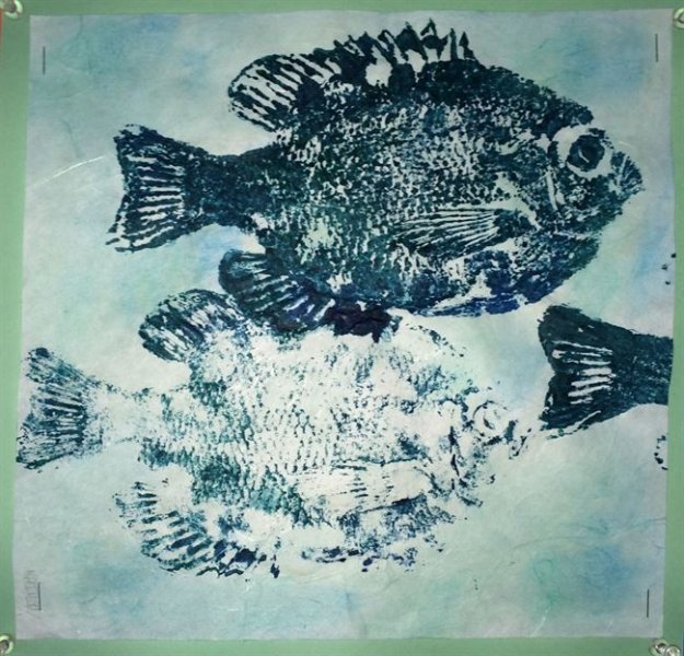 Summer Camp Artwork- Print of fish