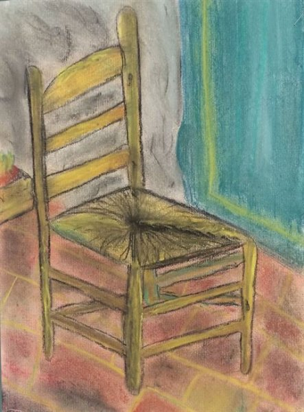 Summer Camp Artwork- Drawing of a chair