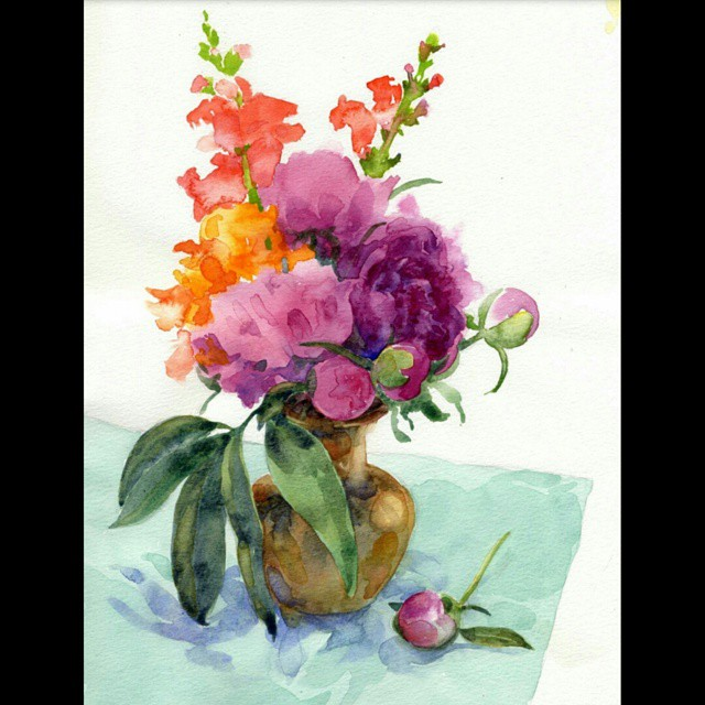 Watercolor Florals demo by Doris Ettlinger will take place at…