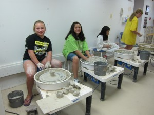 Photo of a Children's Ceramics Class