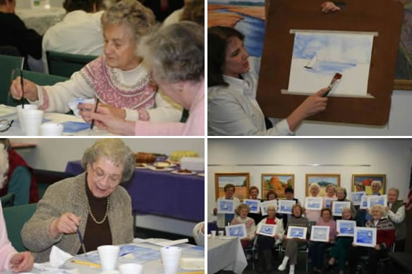Visual Arts Education for Alzheimer's Patients