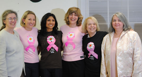 Panelists for Surviving Breast Cancer: Decades of Hope Panel Discussion