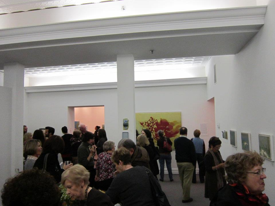 Photo of an Exhibit Opening Reception
