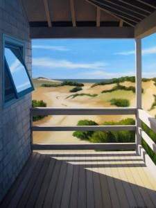 """On the Dunes"" by Linda Pochesci"