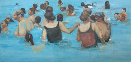 Bathers by Cindy Stockton Moore