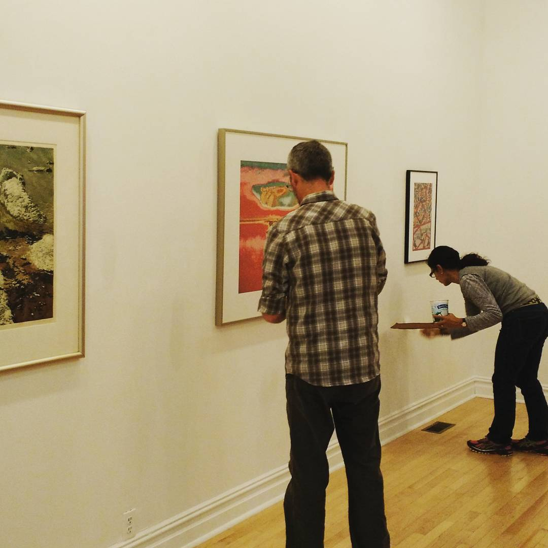 The 2015 International Juried Exhibition is currently being installed athellip