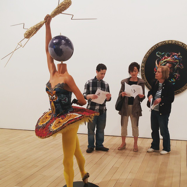 Admiring Rage of the Ballet Gods by Yinka Shonibare MBEhellip