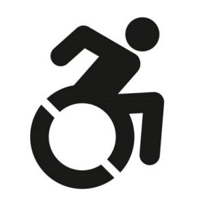 Symbol for wheelchair accessible