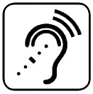 Symbol for assisted listening services