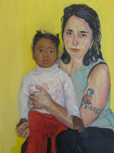 "Best of Show winner ""Madonna and Child"" by Melissa Ross"