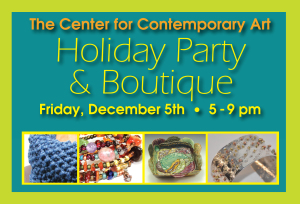 Holiday Party & Boutique post card