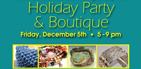 Holiday Party & Boutique post card image