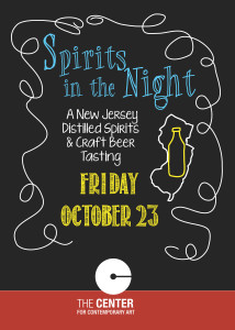 Spirits in the Night invitation cover